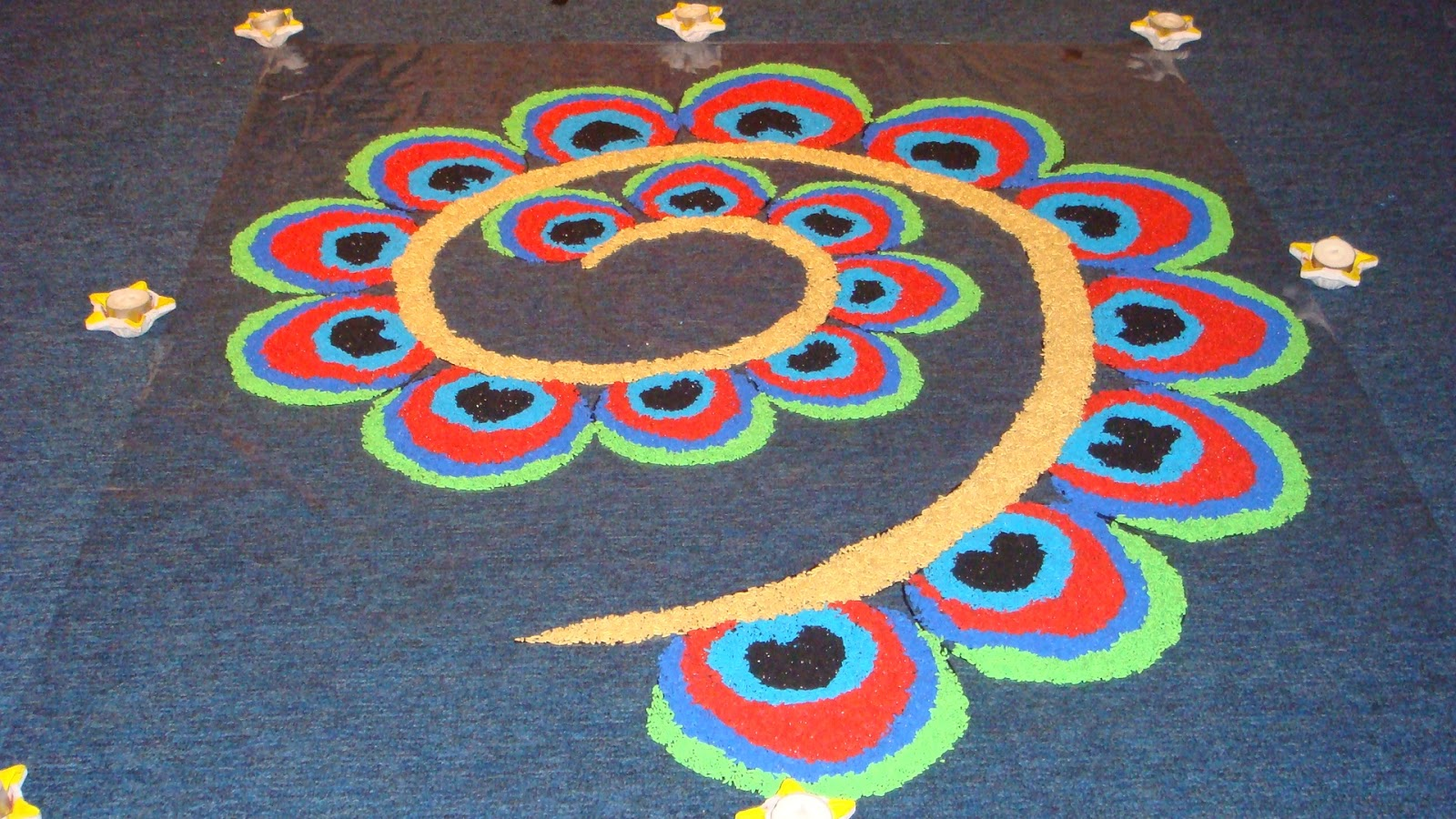 Top Awesome Raksha Bandhan Rangoli Designs wallpapers for free download