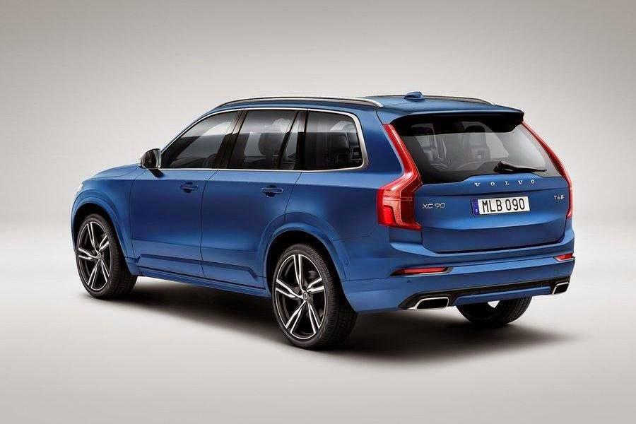 Volvo XC90 R-Design (2015) Rear Side