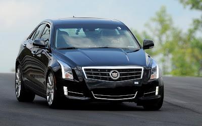2013 Cadillac ATS front three quarter