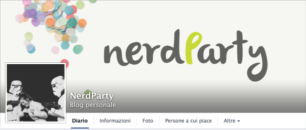 facebook, pagina facebook, nerdParty, nerd, geek, follow, mi piace, share, notizie, news