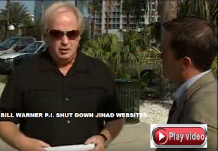 DISABLE JIHAD WEBSITES PI BILL WARNER CALLS FOR ALL MUSLIM RADICAL WEBSITES TO BE SHUT DOWN