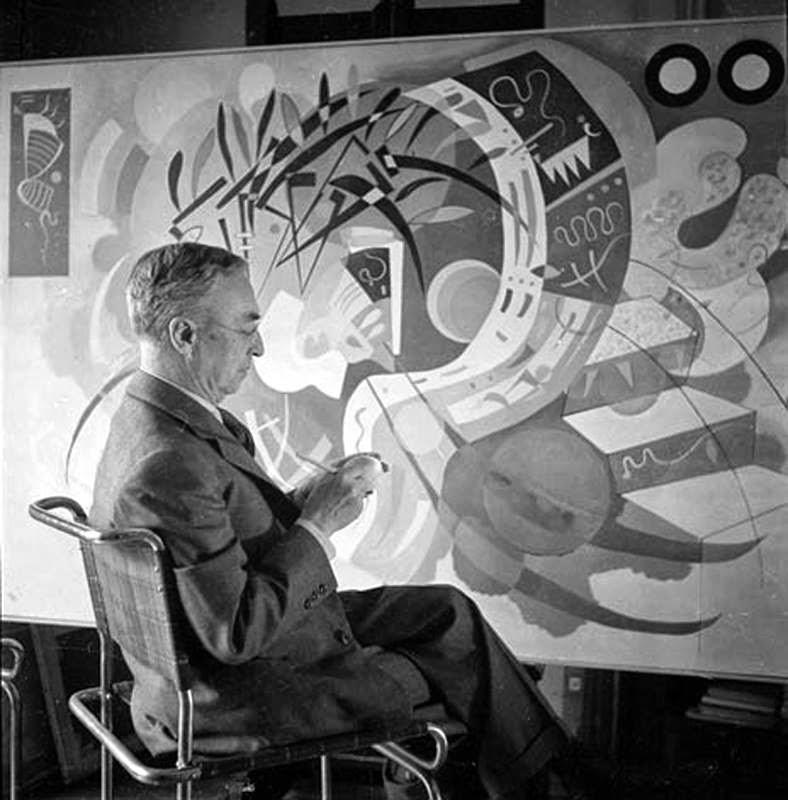Kandinskij en acción