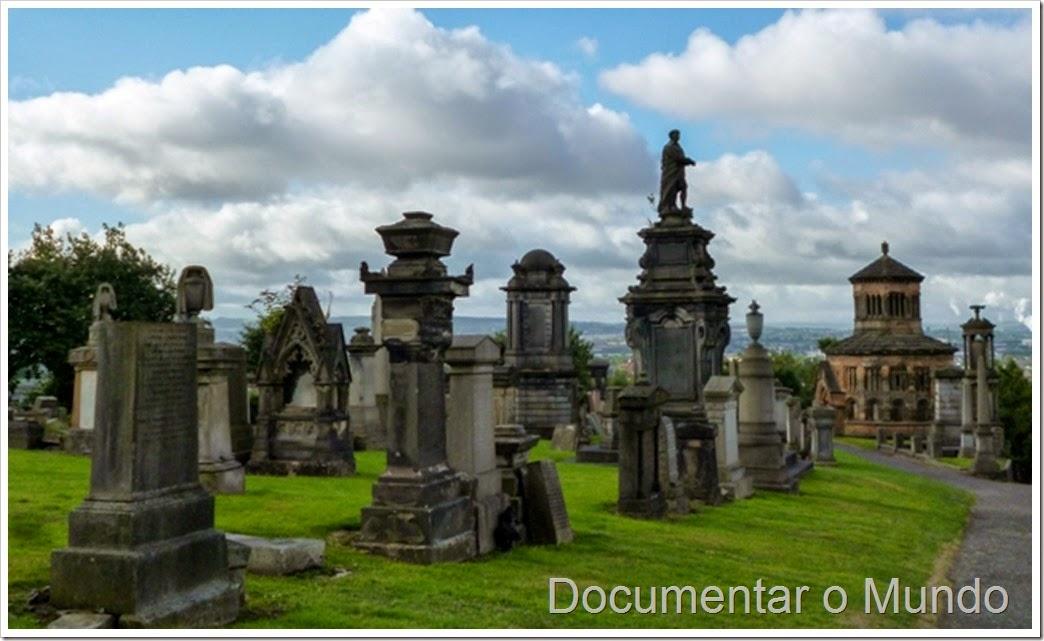 Cemitério de Glasgow, The Necropolis