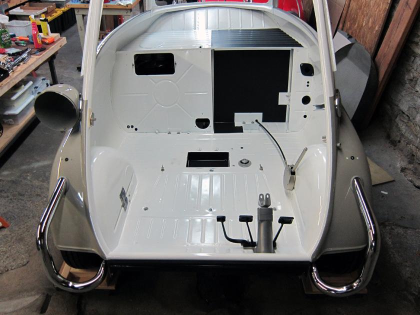 Body Panels Isetta Body Panels