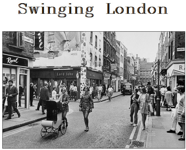 Swinging style in london