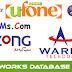 Warid Jazz Ufone Zong Telenor All Sim Database Free Download 2015