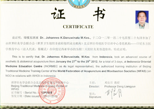 WFAS Certificate