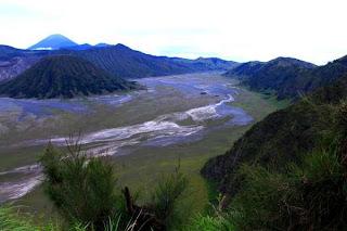 Lokasi hunting di Gunung Bromo