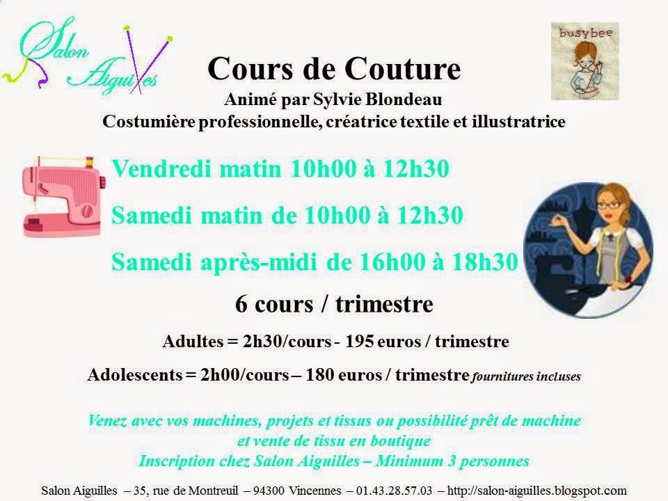 Formation couture morbihan - Cours de couture nantes ...