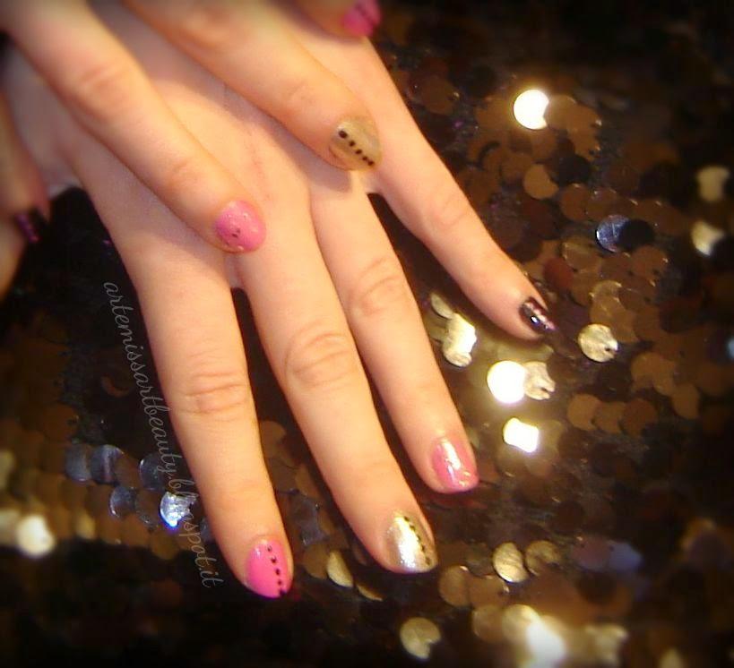 manicure colorata