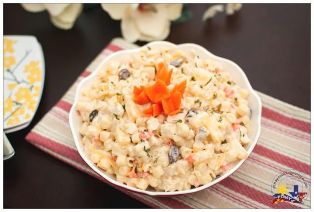 how to make macaroni salad pinoy style