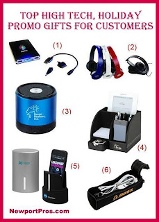 Promodona top high tech holiday promotional gifts for clients for Great gift ideas for clients