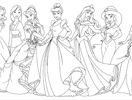Free Printable Disney Princess Bookmarks