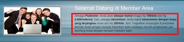 Bloggerklik.com Penipu