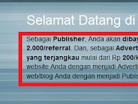 Bloggerklik.com Scam (Bloggerklik.com PPC Penipu)