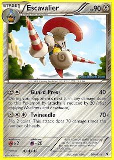 Escavalier Pokemon Card Noble Victories Set