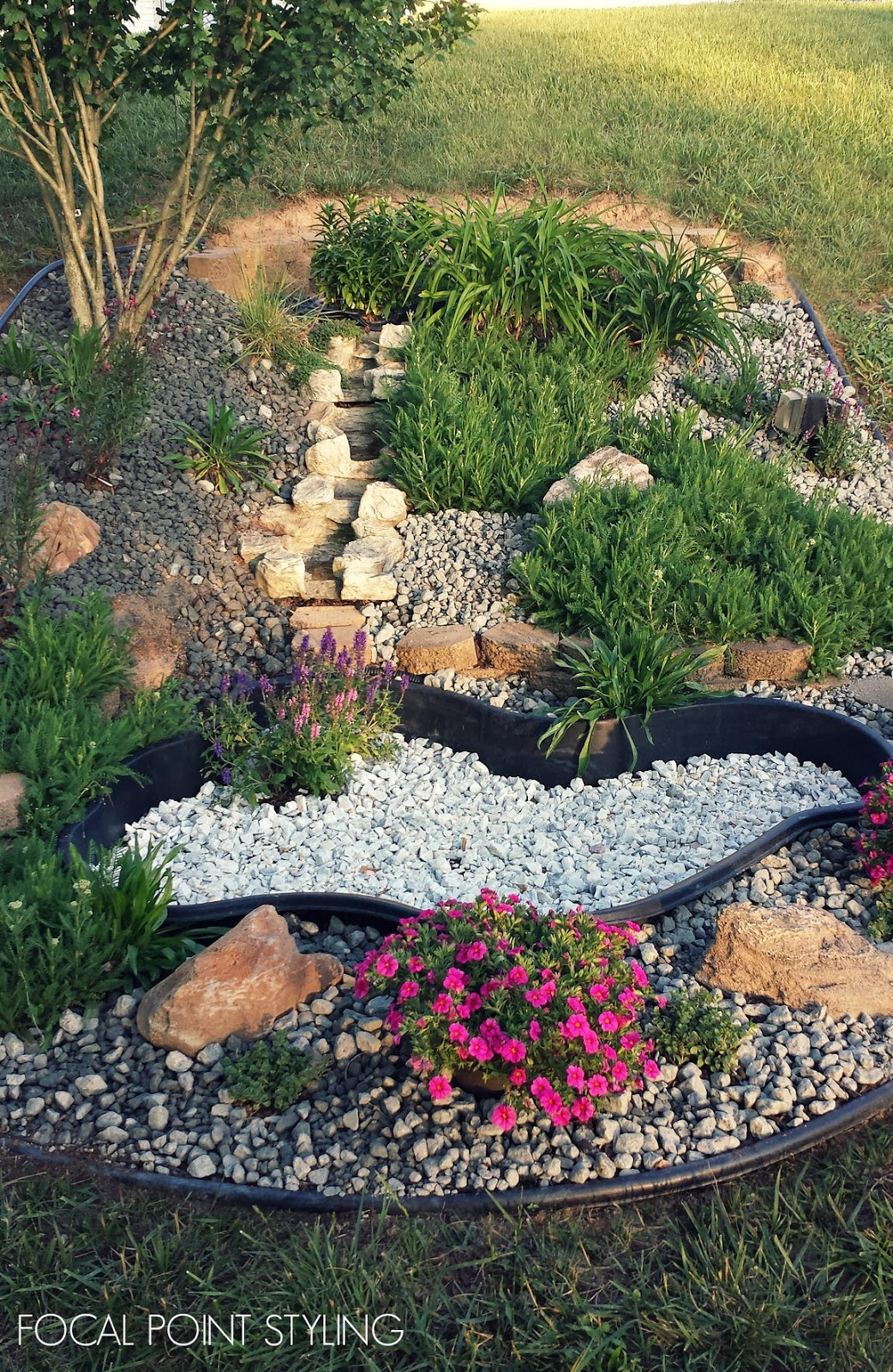 FOCAL POINT STYLING Transforming A Water Garden Into A Rock Garden