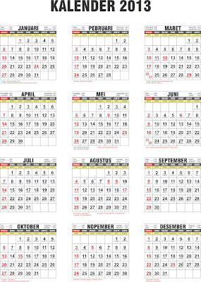 Kalender+2013+ Download Kalender 2013 Format Cdr (Coreldraw)