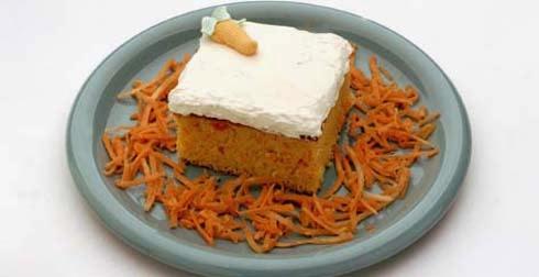 Pastel de Zanahorias
