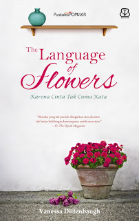 buku murah The Language of Flowers: Karena Cinta Tak Cuma Kata