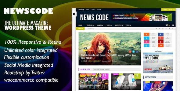 Newscode WordPress Theme 2015