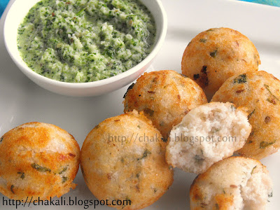 south indian appe recipe, appe, sambar coconut chutney