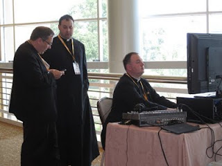 Organizing CatholiCon 2011. Photo by Shelly Kelly