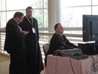 Organizing CatholiCon 2011. Photo by Shelly Kelly
