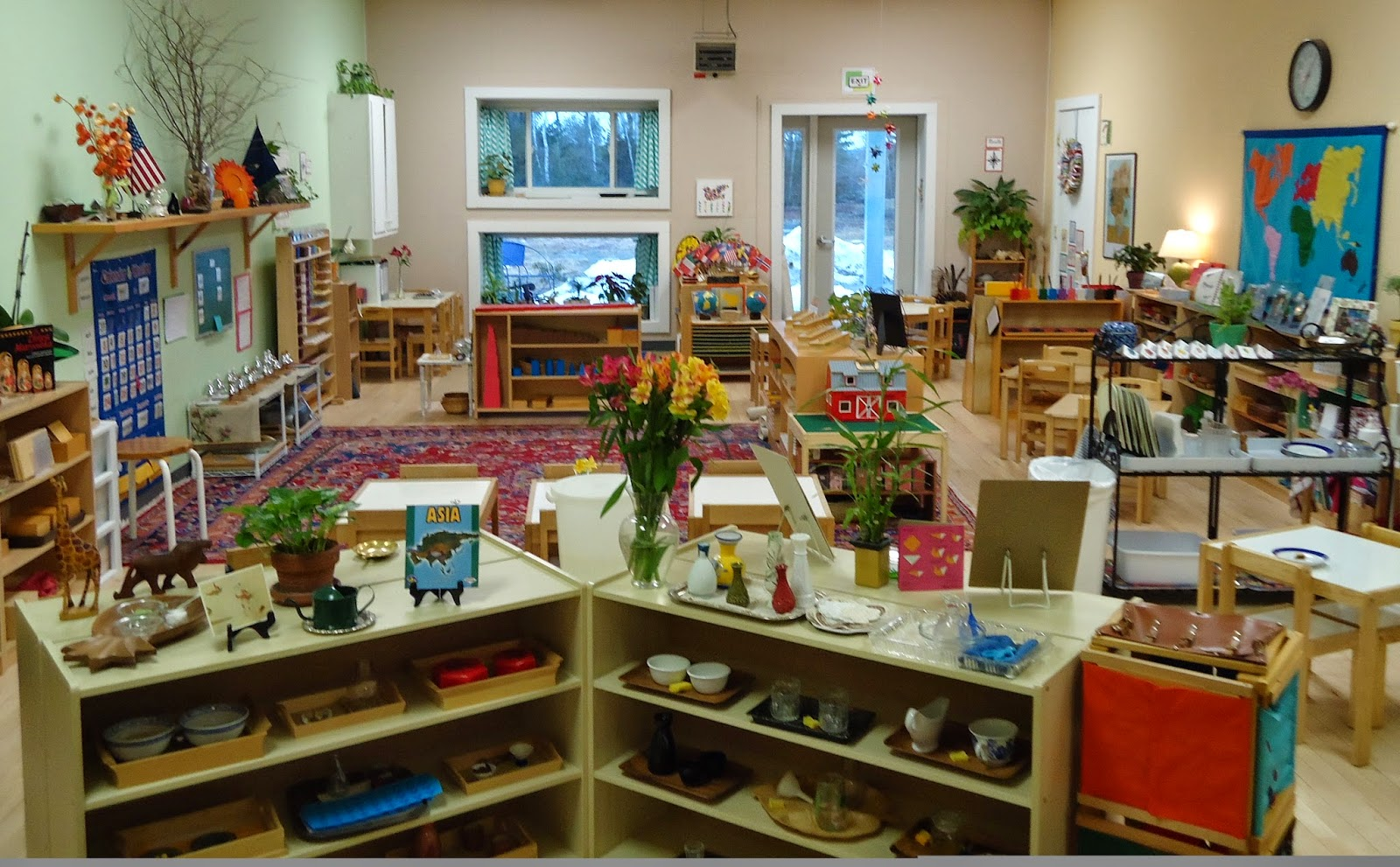 Classroom Design Montessori ~ Montessori education system for all groups
