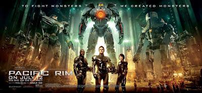 pacific rim 2013 movie poster  Pacific Rim: Espectacular Banner