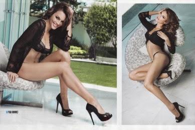 Zuleyka Rivera en Revista H Junio 2014 | imágenes