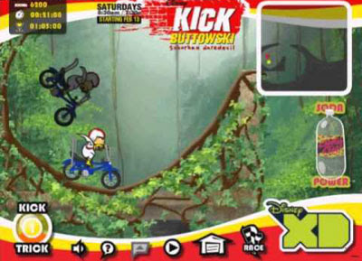 Kick Buttowski  Medio Doble De Riesgo  Disney Xd  Videos Kick