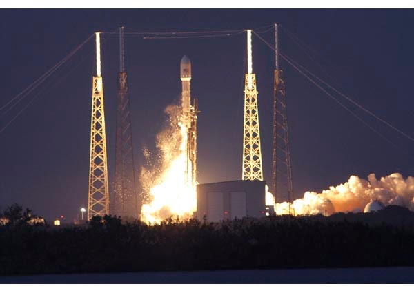 SpaceX Falcon.9 Successfully Launches SES-8 Satellite