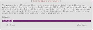 Alamat IP gateway