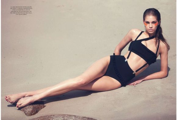 Samantha Gradoville -Harper's Bazaar UK July 2012 by David Bellemere - The Life Aquatic