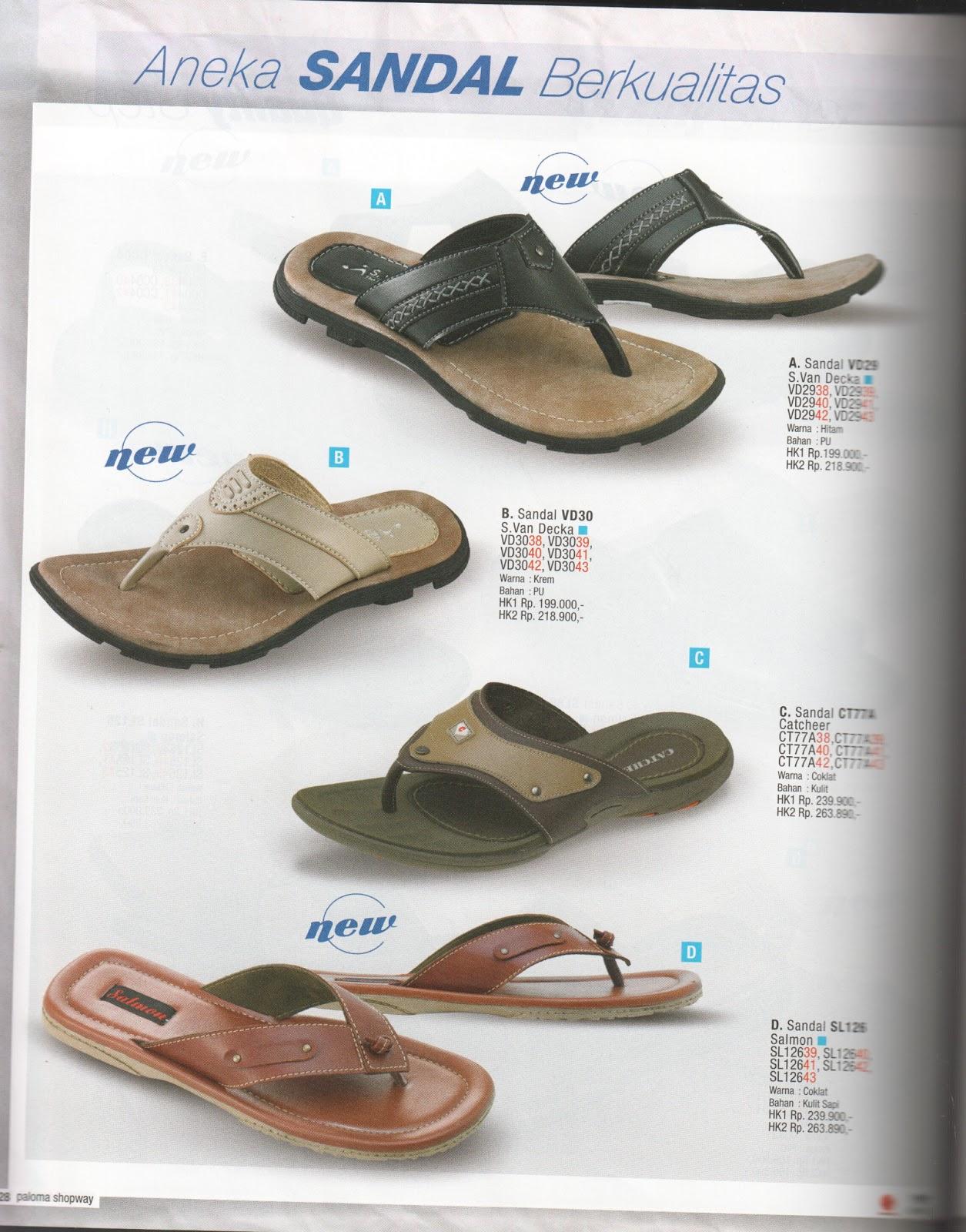 Butik Kristina Sponsor By Paloma Shopway Sandal Pria Koleksi Warna Hitam Note Lebih Jelas Klik Gambar
