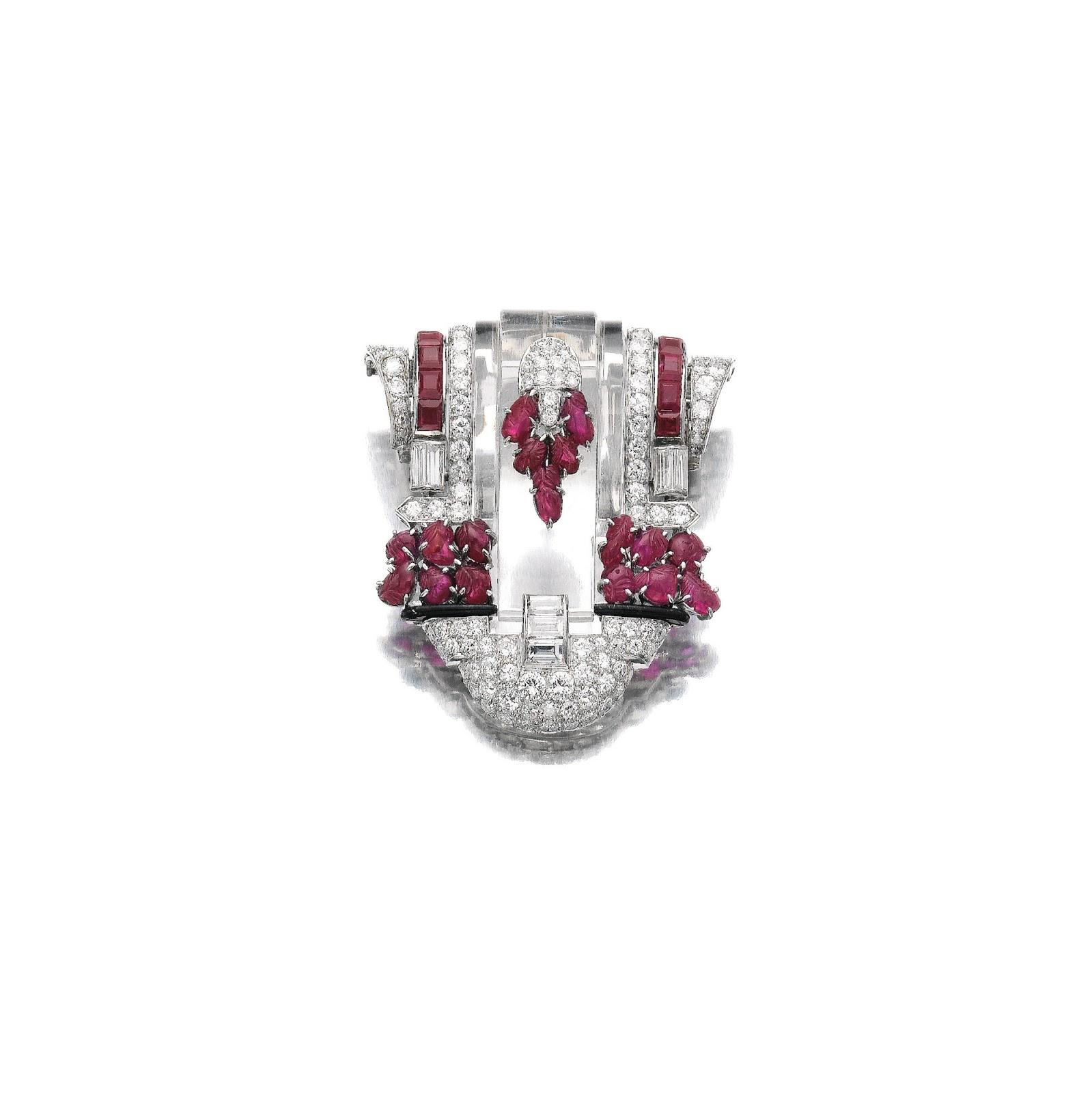 Tiffany Russian Wedding Ring 64 New A rock crystal ruby