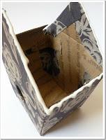 Casinha de passarinho feita de papelão passo a passo