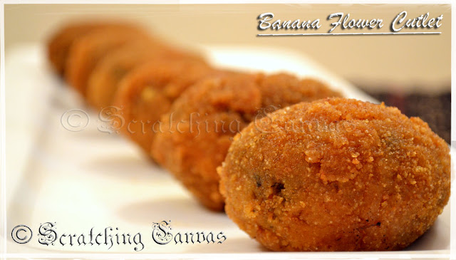 Banana Flower Cutlet Recipe