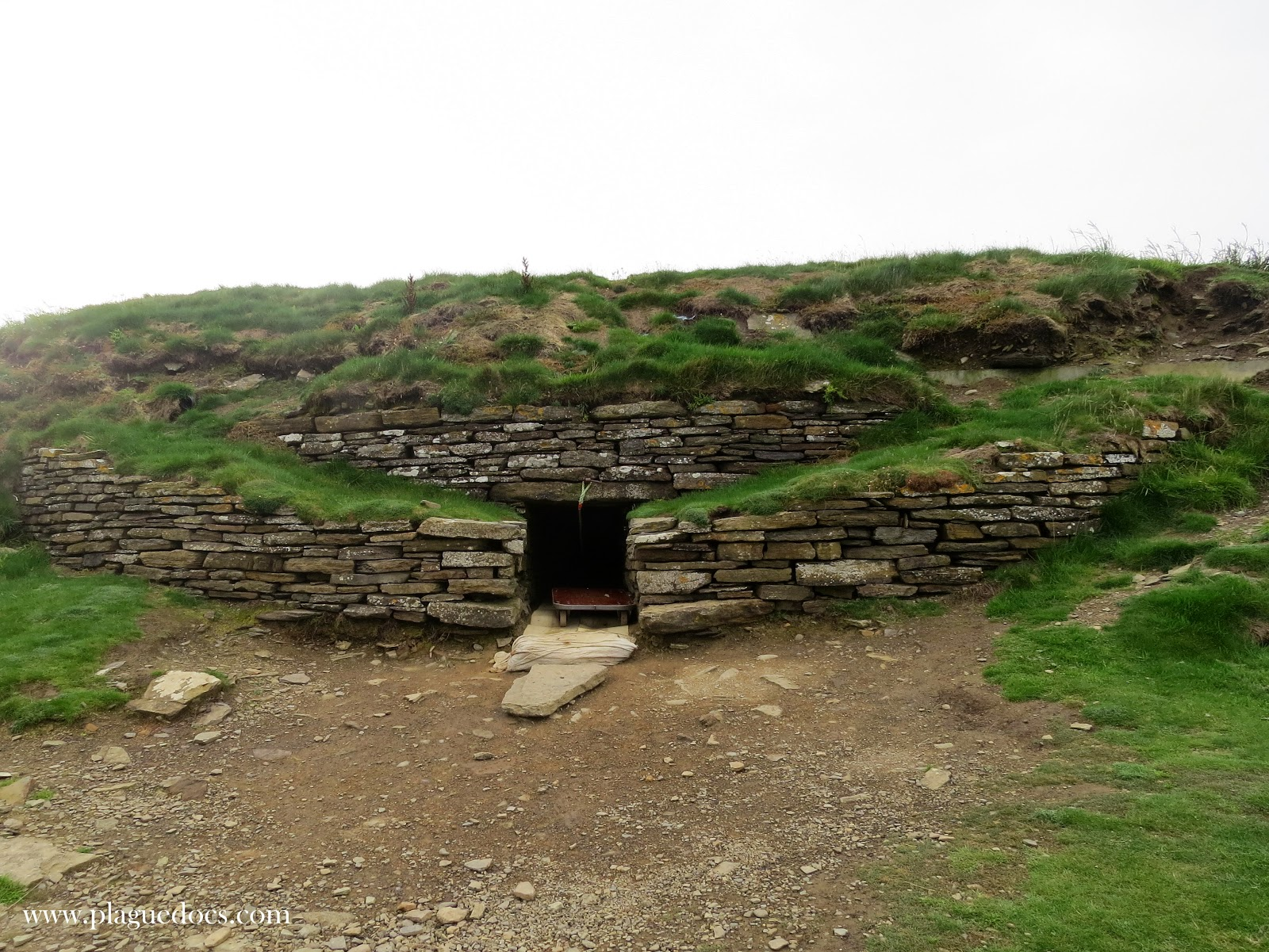 Tomb of the Eagles, Orkney, Scotland