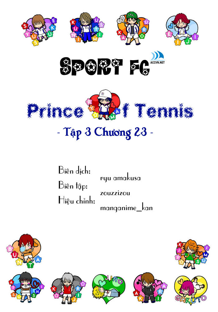 Prince of Tennis chap 23 Trang 1
