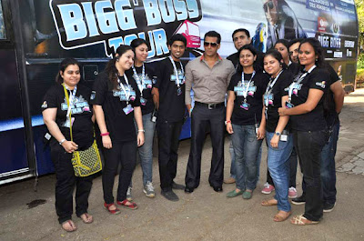 Salman Khan flags off Bigg Boss session 6 Tour