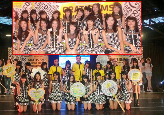 JKT48 di IM3 SMS SUKA-SUKA