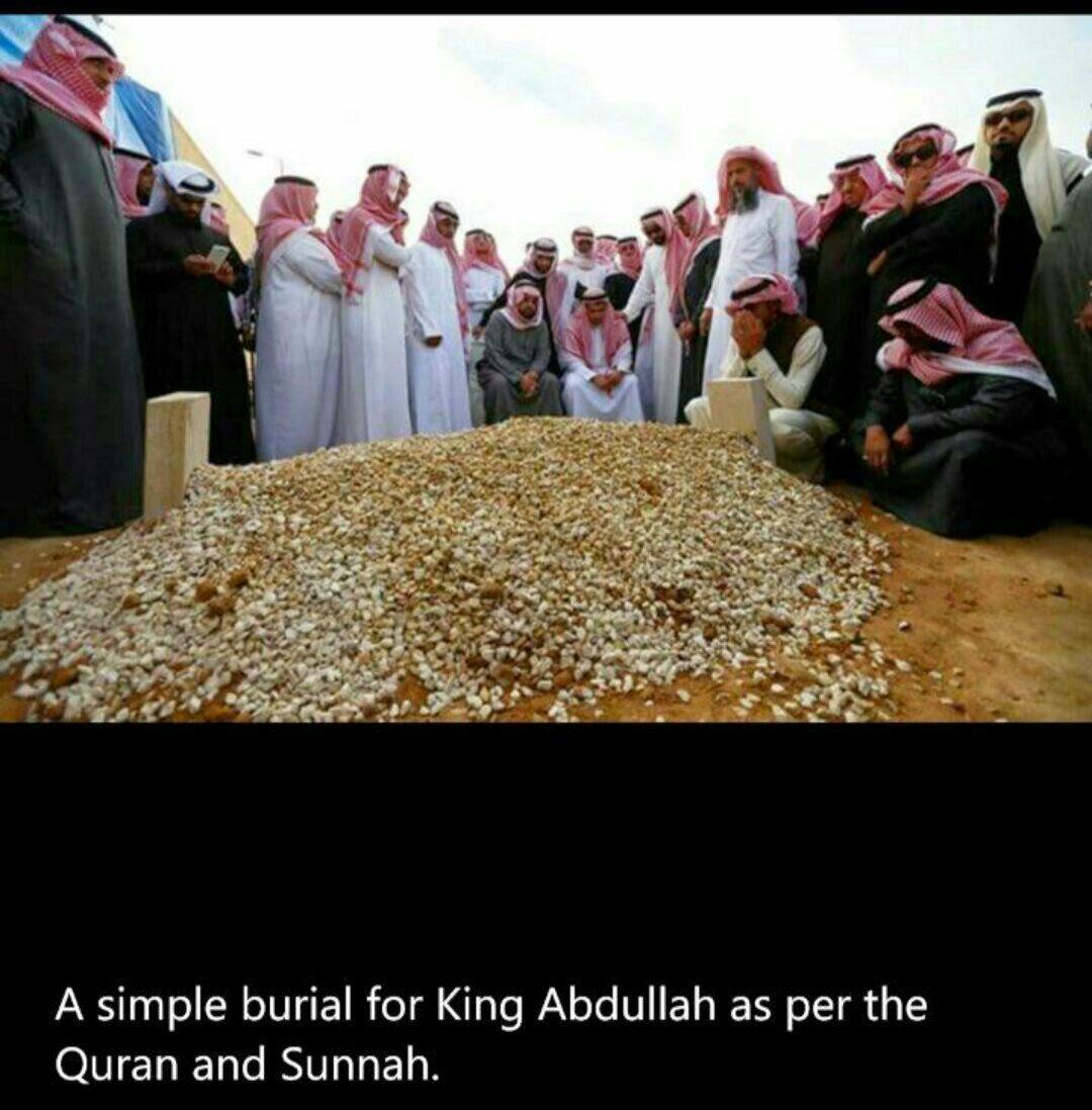 Gambar Kubur Raja Abdulah Yang Tersebar