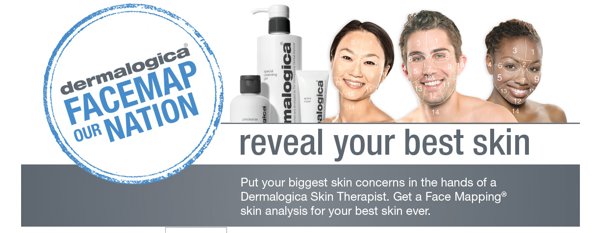 Dermalogica FaceMap Our Nation, Beauty, Skin Care, Clear skin