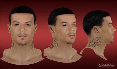 NBA 2K13 Matt Barnes Cyberface Mod