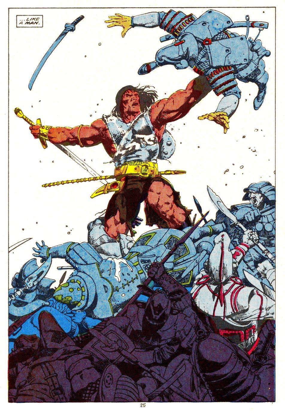 Conan the Barbarian (1970) Issue #207 #219 - English 20