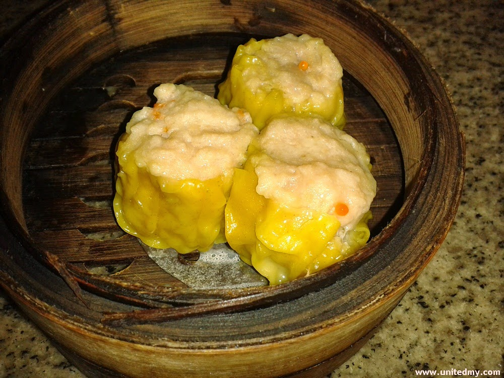 Yellow coated Dim Sum