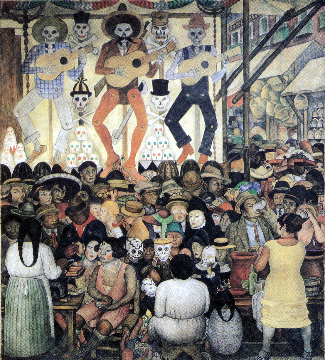 Scuu wow news megan 39 s musings before day of the dead for Dia de los muertos mural