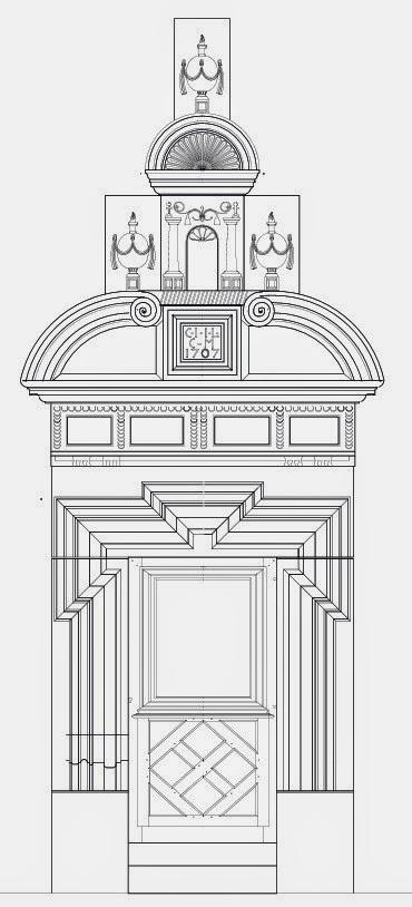 DOMJEVIN (54) - Portes monumentales 1707